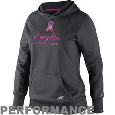Men's Philadelphia Eagles New Era Heather Gray Start Cuff Knit Hat with Pom