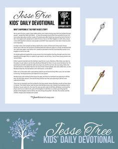Crazy Kids Bible Devotional: Jesse Tree Day 18 | My Favorite Kind of Crazy