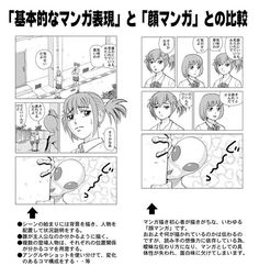 『基本的なマンガ表現と顔マンガ』を比較すると表現力の差が一目瞭然「言われてみれば確かに」 - Togetterまとめ Comic Tutorial, Manga Tutorial, Comic Manga, Manga Comics, Illustrator Tutorials, Art Tutorials, Design Reference, Drawing Reference, Page Layout Design