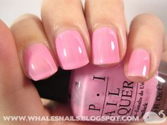 I think in Pink, OPI by Whale'sNails, via Flickr