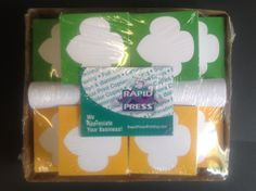 Trefoil notes for Girls Scouts (did we mention we love doing work for the Girl Scouts?)