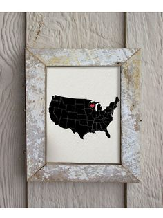 I Heart Wisconsin I Heart Madison USA 8 x 10 by hunterandsmile, $17.50