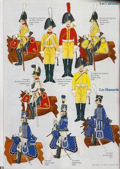 les cuirassier et hussards