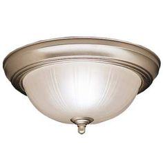 Halls: View the Kichler 8653 2 Light Flush Mount Indoor Ceiling Fixture at Build.com.
