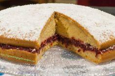 torta allo zenzero con crema raw di mirtilli 2
