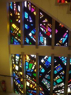 Dalle de Verre Window, Worcester Methodist 作者 Aidan McRae Thomson
