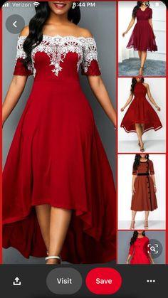 SportsX Women Split One Word Collar Pure Colour Swing Picnic Party Dress