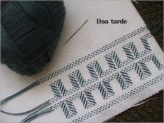 スウェーデン刺繍*下田直子さんの図案 - なおとり日和 ~暮らしの足あと~
