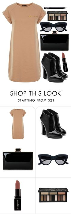 """""""Contrast"""" by ethenknowsfashion on Polyvore featuring Giuseppe Zanotti, Smashbox, Kat Von D and NARS Cosmetics"""
