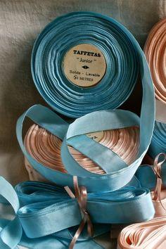 Antique Tape Ribbon, Yellow Grosgrain Taffeta French Trim / Millinery Ballet…