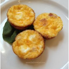 Mini Quiche from Eat Drink Eat blog