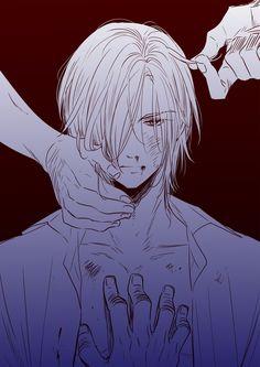 Sad Anime, Anime Guys, Manga Anime, Anime Art, Devilman Crybaby, Fanarts Anime, Anime Characters, Anime Faces Expressions, Banana Art