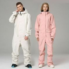Advertisement(eBay) Ski Suit Jumpsuit Snowboard Jacket Men Women Outdoor Hiking Skiing Set Winter
