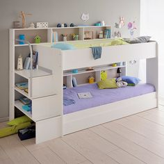 Found it at AllModern - Bibop 2 Twin Over Twin Bunk  Bed with Trundle