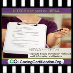 Understanding Medical Billing and Coding - HITECH's Impact on HIPAA