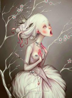 creepyartetc:  Artist: LostFish More creepy art