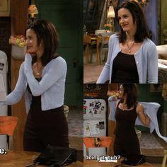 Monica Geller style
