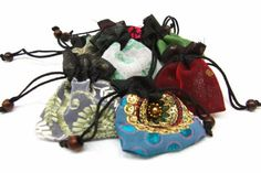 2.5x3 Small Party Favor Bag or Jewelry Gift Bag Set Of 100 Assorted | catfluff - Craft Supplies on ArtFire