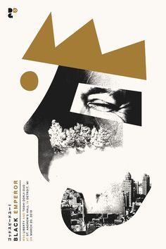 Godspeed You! Black Emperor Gig Poster for Detroit MI