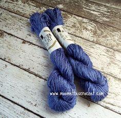 Lot of 3 #BERROCO #Yarn Cotton Twist Blue 50g Balls #Crochet Thread Mercerized New
