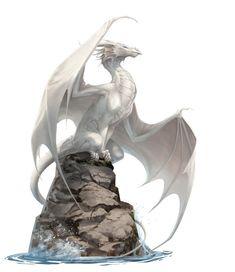 Pearldragon by Pechschwinge on DeviantArt - Pearldragon by Pechschwinge. THIS is what a dragon looks like- thank you! Mythical Creatures Art, Mythological Creatures, Magical Creatures, Fantasy Kunst, Fantasy Art, Dragon Illustration, Beautiful Dragon, Cool Dragons, Dragon Artwork