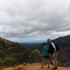 A honeymoon hike in