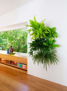 Self-watering plant holder is a practical piece of home decor to have inside and outside of the home. Unlike other vertical gardens, it is a simple plant holder that mounts onto the wall like a mailbox. Although it is quite simple on its own, when overflowing with lush greenery, the Living Wall Planter becomes a spectacular sight that adds a fresh feel to any home.