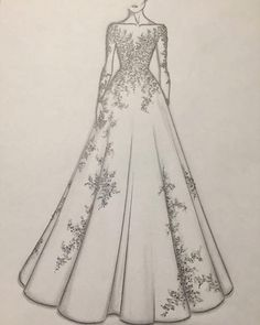 For order booking Please email Source by nivetasdesignstudio dresses drawing Dress Design Drawing, Dress Design Sketches, Fashion Design Drawings, Fashion Sketches, Fashion Drawing Dresses, Fashion Illustration Dresses, Drawing Fashion, Drawings Of Dresses, Fashion Dresses