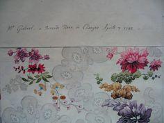 Silk design by Anna Marie Garthwaite - 1741 London at the V&A | Spitalfields Life