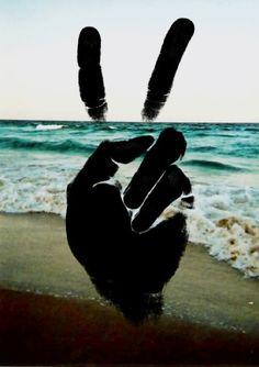 Peace, love, and the sea :)