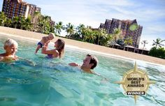 Aulani, a Disney Resort and Spa in Hawai'i has received the No. 1 ranking in the Travel + Leisure World's Best Awards 2014 in the category of Top Family Hotel: USA!