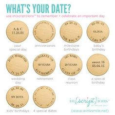 Inscription ideas! Order your own at annali.origamiowl.com