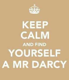 is anyone else as in love with mr. darcy as we are?