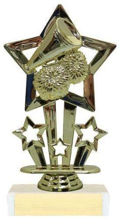 """6 1/2"""" Cheer Trophy. FCT43. www.wilsontrophy.com"""