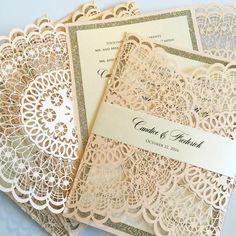 Doily laser cut wedding invitations, laser wedding invitations, doily wedding invitations, blush wedding invitations.