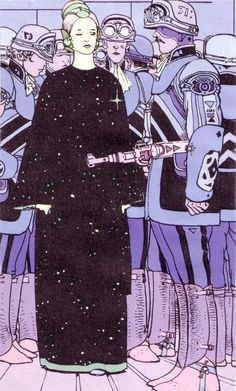 Jean Giraud.  Moebius--The Airtight Garage.