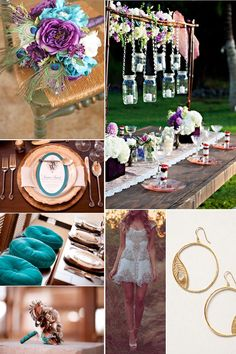 A Peacock Wedding - Ideas, Inspiration and Pictures!   Yes Baby Daily