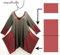 El rehacimiento de la túnica \/ las Camisetas DIY \/ la SEGUNDA CALLE // Salamandra Siberia