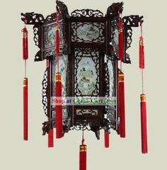 chinese palace lanterns | Chinese Classical Wooden Palace Lantern