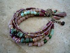 Boheemse armband /Gypsy/ Boheemse armband / Gypsy door Syrena56