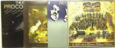 Procol Harum LP Vinyl Record Album Lot the Best of + Live + Broken Barricades ++