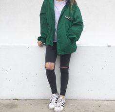 jacket oversized windbreaker tommy hilfiger green windbreaker oversized green jacket emerald green wind breaker superstar adidas originals adidas superstars black jeans ripped jeans tommy hilfiger jacket tommy hilfiger windbreakeer