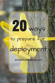 20 Ways to Prepare for Deployment, funny tips on how to prepare for deployment as a military spouse