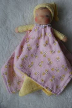 Waldorf doll for baby.