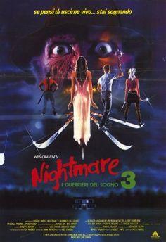 A Nightmare on Elm Street 3: Dream Warriors Poster Movie Italian 11x17 Patricia Arquette @ niftywarehouse.com #NiftyWarehouse #NightmareOnElmStreet #Halloween #Freddy #FreddyKrueger #Horror #HorrorMovies
