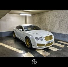 Bentley Continental GT... a little bit too much for me, but i still like it
