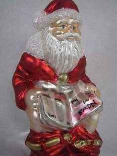 Santa on the toilet