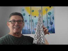 Elegantes arbolitos navideños. 3 ideas como comprados en tiendas de lujo. Proyecto Navidad 2020. - YouTube Christmas Favors, Holiday Ornaments, Christmas Decorations, Christmas Fashion, Diy, Chester, Crafts, Angeles, Youtube