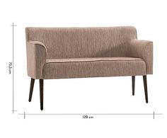 Sofá malbec - 120cm