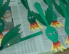 Bonica manualitat de Sant Jordi per fer amb els més petits! Diy And Crafts, Crafts For Kids, Arts And Crafts, Castle Crafts, St Georges Day, Dragon Party, Xmas Presents, Animal Crafts, Nursery Rhymes